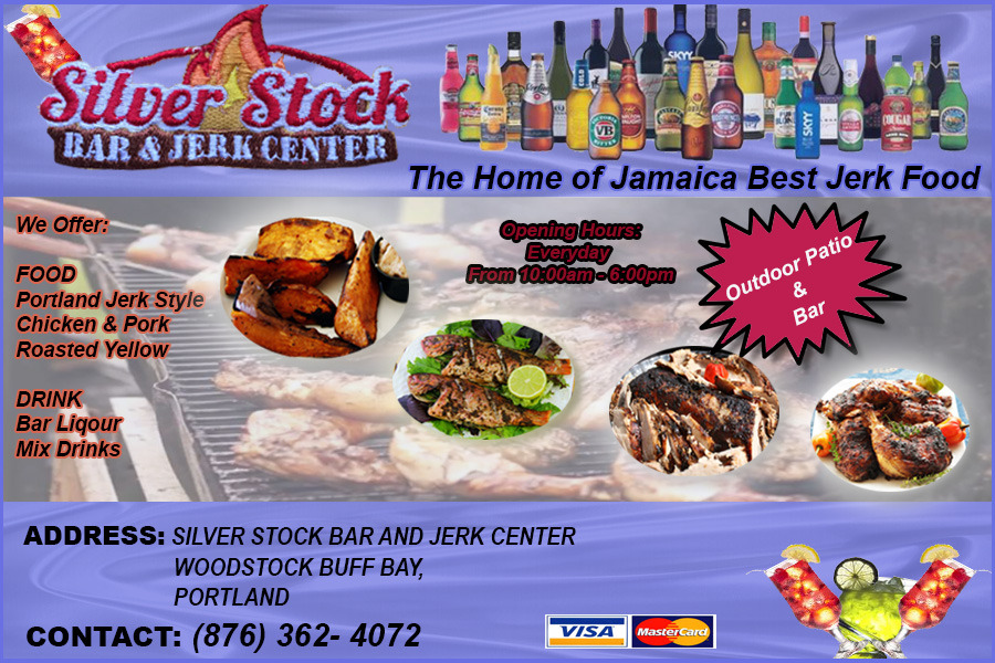 Silver Stock Bar and Jerk Center