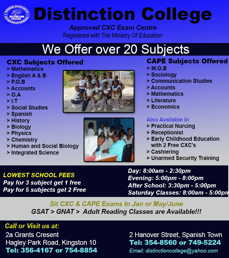 Distinction College