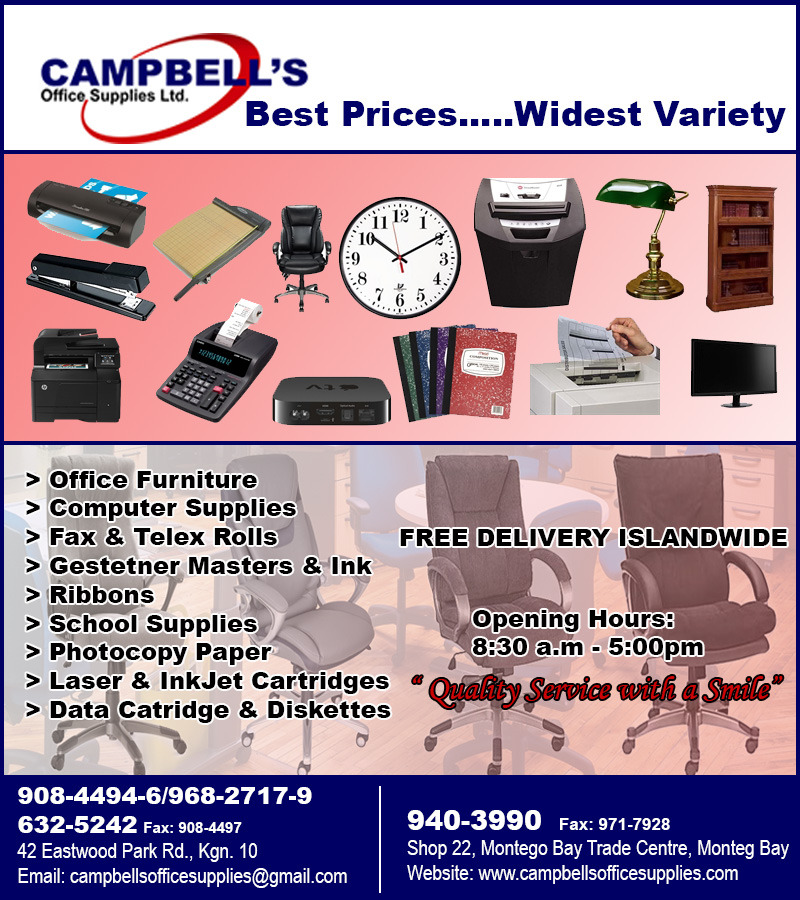 Campbell S Office Supplies Ltd