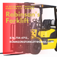 Local Business Robinson's Forklift Repairs & Services in Kingston 5 St. Andrew Parish