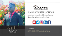 Local Business AJAWI Construction in Kingston St. Andrew Parish