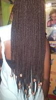 small box plaits