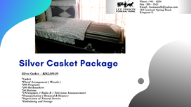 Silver Casket Package