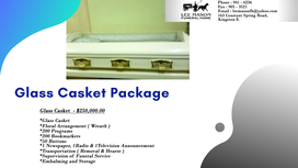 Glass Casket Package