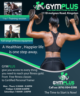 Poster Gym Plus Fitness