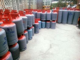 25lbs Gas Pro Cylinder