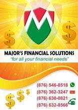 Local Business Major's Financial Solutions  in Mandeville Manchester Parish
