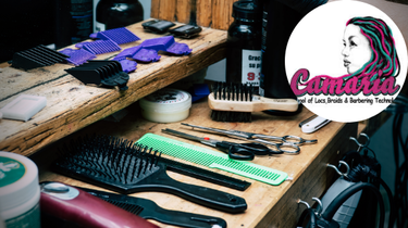 Come & Learn Techniques at Camaria School of Locs, Braiding & Barbering Technology